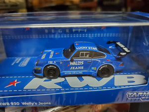Tarmac Works 1/64 RWB 930 Wally's Jeans - HOBBY64