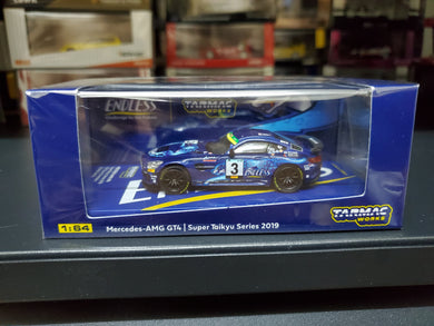 Tarmac Works 1/64 Mercedes-AMG GT4 Super Taikyu Series 2019 #3 ST-Z Class Champion - HOBBY64