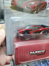 Load image into Gallery viewer, Tarmac Works 1/64 Koenigsegg Agera RS Metallic Red / Black Carbon - GLOBAL64