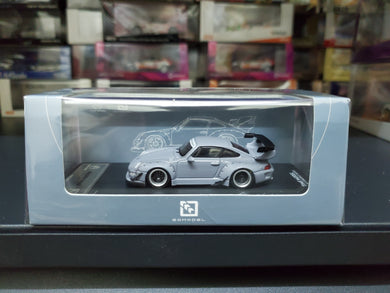 Time Model TM x So Model 1/64 Diecast RWB 993 1200 Pcs Grey