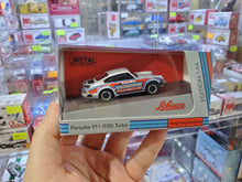 Load image into Gallery viewer, Schuco 1/64 Porsche 911 930 Silver HK Exclusive