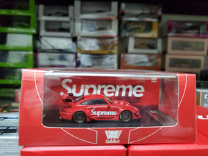 Time Model 1/64 Diecast RWB 993 Supreme GT Wing