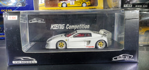 YM Model 1/64 Koenig Competition White