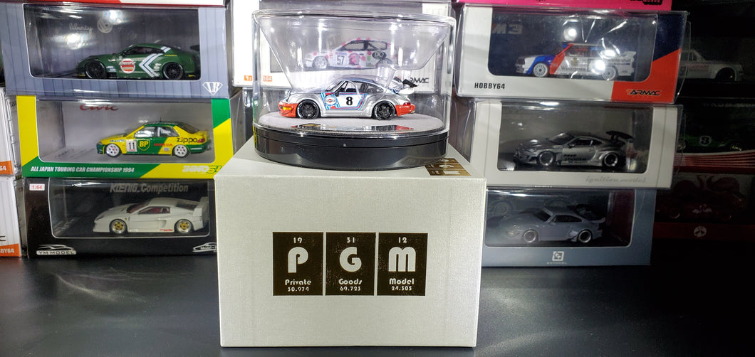 PGM Private Good Model 1/64 RWB 964 Diecast Martini ( Premium Package )