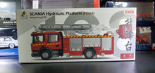 Load image into Gallery viewer, Tiny No.198 Scania Hydraulic Platform Fire Fighter Kwun Tong 7 Eleven Exclusive