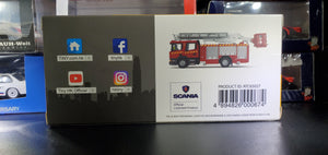 Tiny No.198 Scania Hydraulic Platform Fire Fighter Kwun Tong 7 Eleven Exclusive