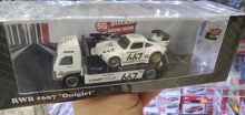 Load image into Gallery viewer, Official RWB Licensed SDGE Exclsuive Hot Wheels Custom 1/64 RWB Onigiri Woth Matxhing Team Transport 25 pcs Only ( Free Shipping Worldwide !!! )