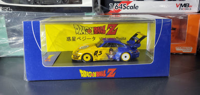 Time Model 1/64 RWB 993 Wskusei Bejita Vegeta Dragon Ball Z