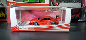 FuelMe 1:64 Toyota 86 Rocket Bunny V3.5 PANDEM Rainbow Rabbit Car Model Limited