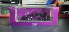 Load image into Gallery viewer, Time Model TM 1:64 Diecast Model Car RWB 993 Star Purple