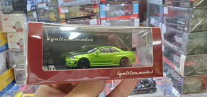 1:64 Ignition Nissan Skyline GT-R NISMO Z-Tune R34 Green Gallery Anni JDM IG2126