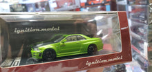 Load image into Gallery viewer, 1:64 Ignition Nissan Skyline GT-R NISMO Z-Tune R34 Green Gallery Anni JDM IG2126