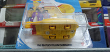 Load image into Gallery viewer, Hot Wheels The Beatles Yellow Submarine Treasure Hunt 2020