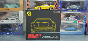 Tomica Limted Vintage Neo TLV Tomytec 1/64 Japan TAKARA TOMY Mall Exclusive Ferrari F355 Berlinetta ( yellow )