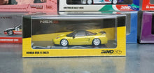 Load image into Gallery viewer, inno64 HONDA NSX-R NA2 Rio Yellow Pearl with Extra Wheels