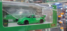 Load image into Gallery viewer, PGM 1/64 Diecast RWB 993 Green Rough Rhythm Standard Package Limited 999 Pcs