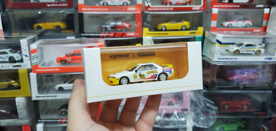 Kyosho x Tarmac Works 1/64 Nissan Skyline GT-R R32 South East Asia Touring Car Championship 1992 #9 - COLLAB64