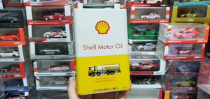 Tiny x Shell Motor Oil Tanker Truck Mercedes Benz Antos Hong Kong ( Wave 1 )