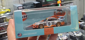 Time Model Micro TM 1:64 Diecast RWB 993 Gulf USA Exclusive Chase