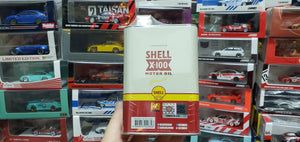 Tiny x Shell 1/76 Ford Transit Mk2 60s with Oil Can Container ( Wave 2 )