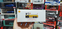 Load image into Gallery viewer, Set of 4 Wave 2 Tiny x Shell 1/120 Hong Kong Tramway + 1/76 Mercedes Benz Antos Tow Truck + 1/76 Isuzu N Series Flatbed Tow Truck + 1/76 Ford Transit Mk2 60s with Oil Can Container ( Free Shipping Worldwide )