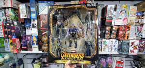 Hasbro Marvel Legends The Children of Thanos 5 Pack ( Free Shipping Worldwide !!! )