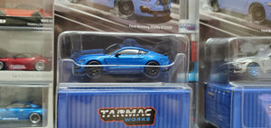Tarmac Works 1/64 Ford Mustang Shelby GT350R Blue Metallic