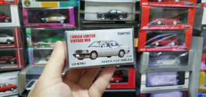 Tomy Tomica 1/64 Tomytec Mercedes Benz 190E 2.3 White LV-N79a ( Free Shipping Worldwide )