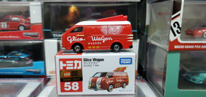 Takara Tomy Tomica 1/64 No.58 2021 50th Anniversary Glico Wagon Japan Exclusive