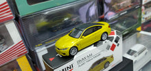 Load image into Gallery viewer, Mini GT MiniGT 1/64 BMW M4 (F82) Austin Yellow Metallic No.143
