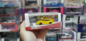 FuelMe 1/64 Raul-Welt Begriff RWB Porsche 400R 993 Gunther Werks (Hornet Yellow) Resin Made Model