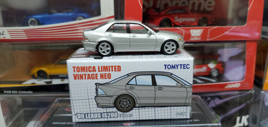 Tomy Tomica TomyTec 1/64 Hong Kong Exclusive 99 Lexus IS200 Silver