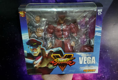 Storm Collectibles 1/12 Street Fighter V Dictator M Bison / Vega - USED ( Free Shipping Worldwide !!! )
