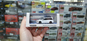 Tarmac Works 1/64 Mitsubishi Lancer Evolution Wagon, With detached rooftop cargo carrier