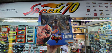 Storm collectibles Zangief Action Figure Street Fighter 30th Anniversary Toys - Used ( Free Shipping Worldwide )