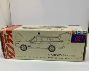 TOMICA DANDY NISSAN GLORIA VAN ROAD CONSTRUCTION PUBLIC CORP SCALE 1/49