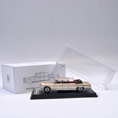 DCM 1/64 Diecast Benz Pullman Champagne Gold Limited 999 Pcs