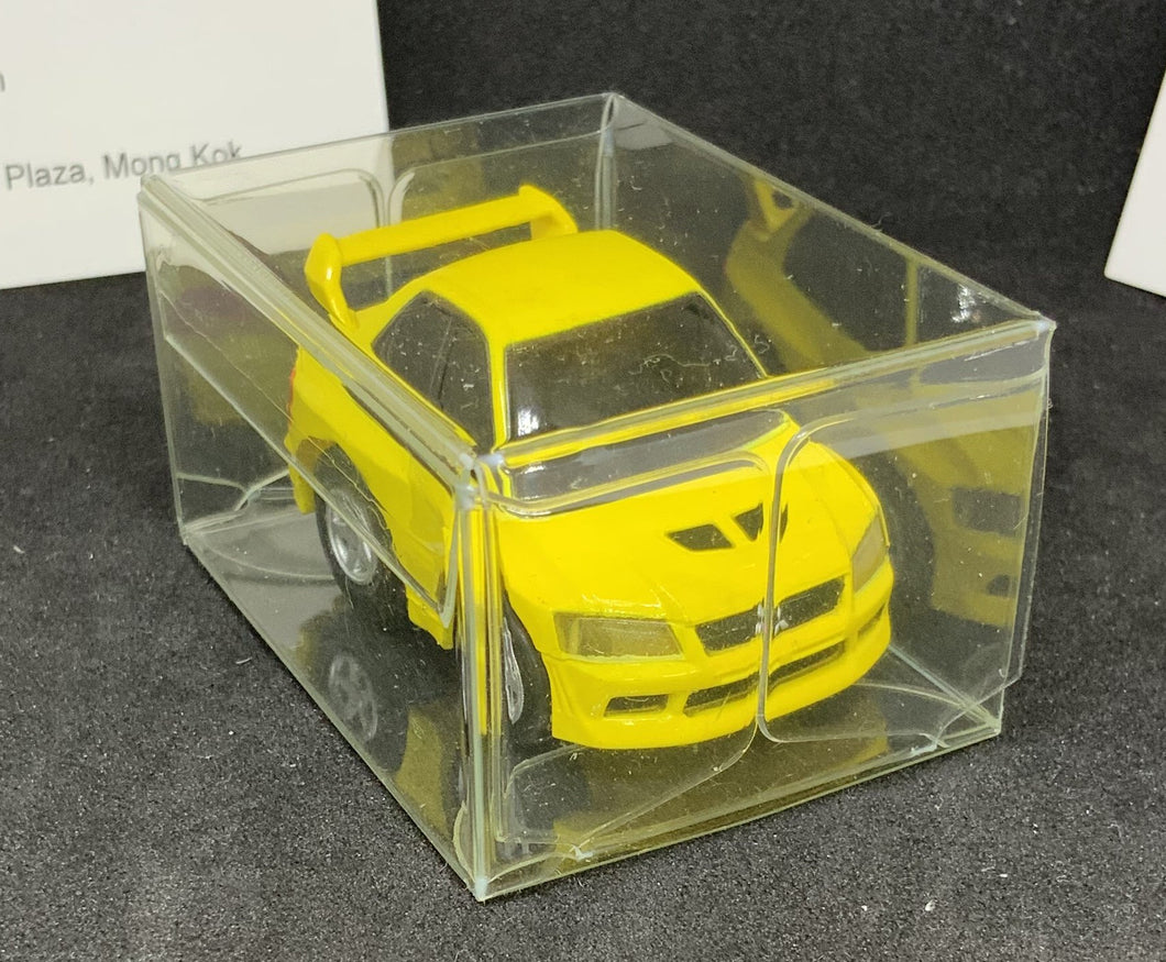Choro Q TAKARA STD-20 MITSUBISHI LANCER EVOLUTION VII Yellow