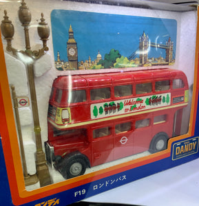 TOMICA DANDY F19 LONDON TRANSPORT SCALE 1/43