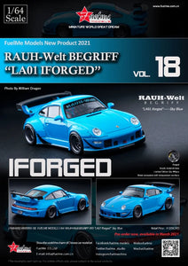 Preorder - FuelMe 1/64 Resin Model RWB993 LA01 IFORGED - Release Date : Mar 2021