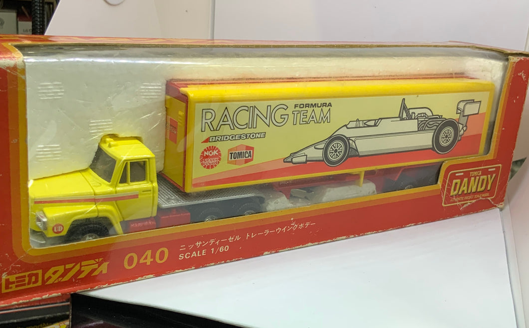 TOMICA DANDY FORMURA RACING TEAM SCALE 1/60