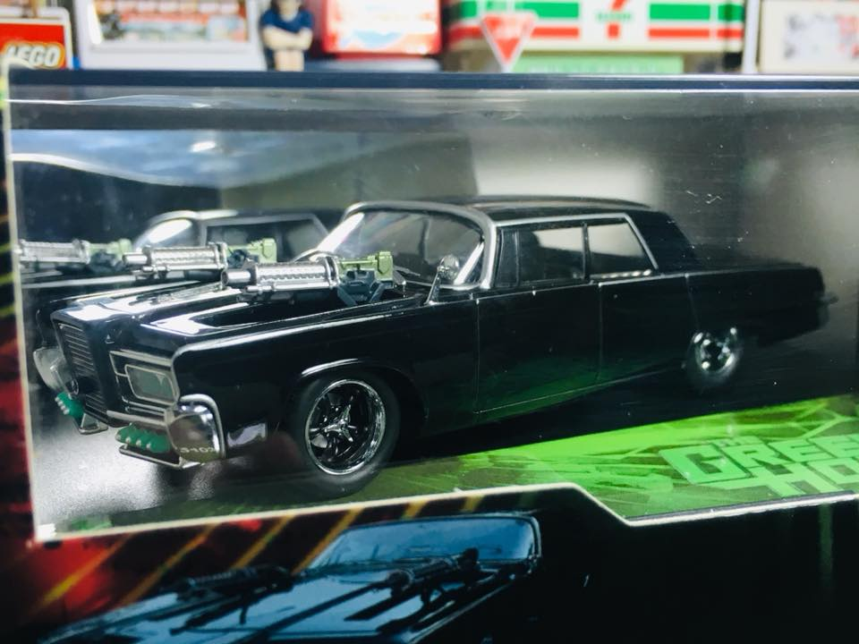 Vitesse Model 1:43 Diecast Miniature Car The Green Hornet Black Beauty