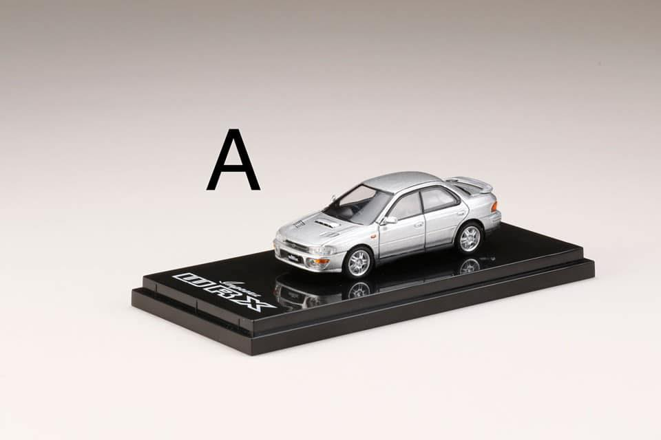 Preorder ~ Hobby Japan 1/64 Subaru Impreza WRX (GC8) ~ 4 Colors - ETA : Feb 2020