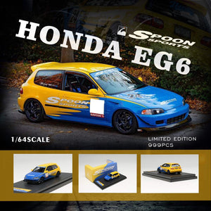 Preorder ~ YM Model 1/64 Spoon Sports Honda ( EG6 / S2000 ) ETA : November 2019