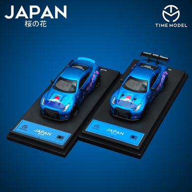 Preorder ~ Time Model 1/64 Japan Sakura Nissan GT-R ( Duck Tail / High Wing ) ETA : November 2019