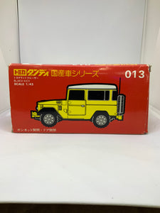 TOMICA DANDY 013 LAND CRUISER
