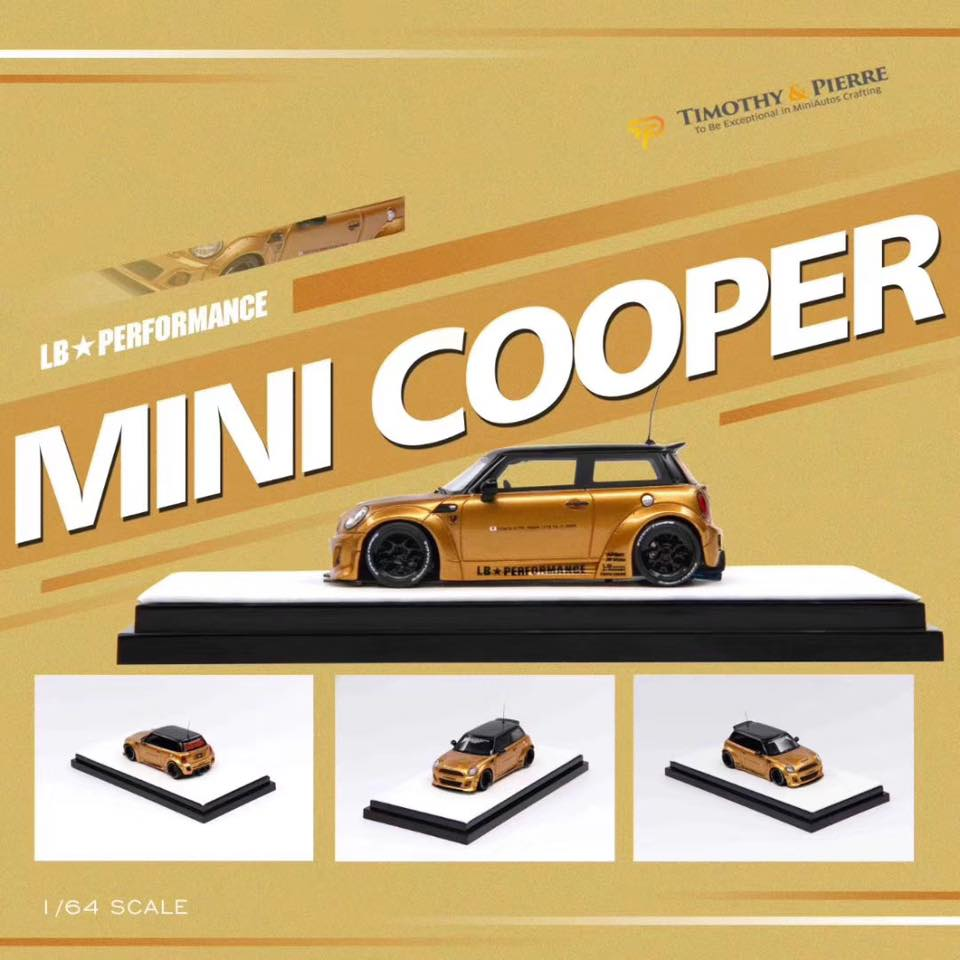 Preorder ~ 1:64 Timothy & Pierre Mini LB Resin Made Model Car ~ 3 Colors - ETA : November 2019