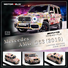 Load image into Gallery viewer, Preorder ~ Motor Helix 1/64 Mercedes Benz G63 Limited 499 Pcs ETA : Dec 2019