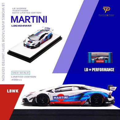 Preorder ~ Timothy & Pierre 1/64 Martini LBWK Aventador v2.0 ETA : March 2020