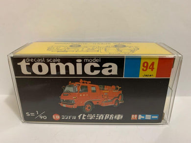 Takara Tomy Tomica Black Box 94 UD Condor Chemical Fire Truck (Made In Japan) (#Y)